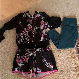 Fabletics outfit and leggings size L